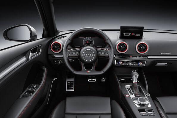 Audi A3 e S3. Foto: Divulgação/Audi