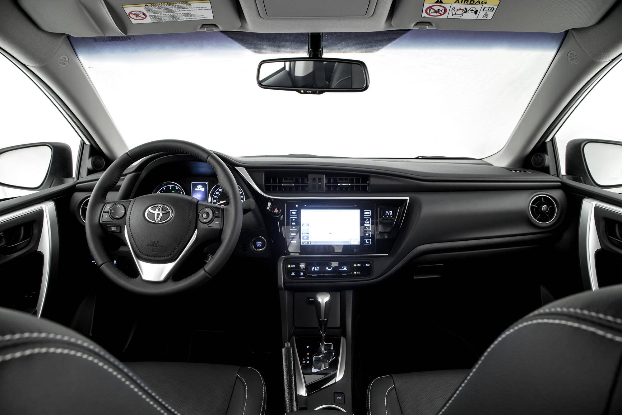 Toyota Corolla. Foto: Divulgação/Toyota