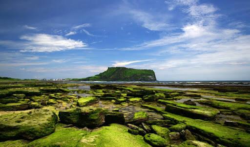 Ilha de Jeju reserva paisagens exóticas e peculiares. Foto: Reprodução