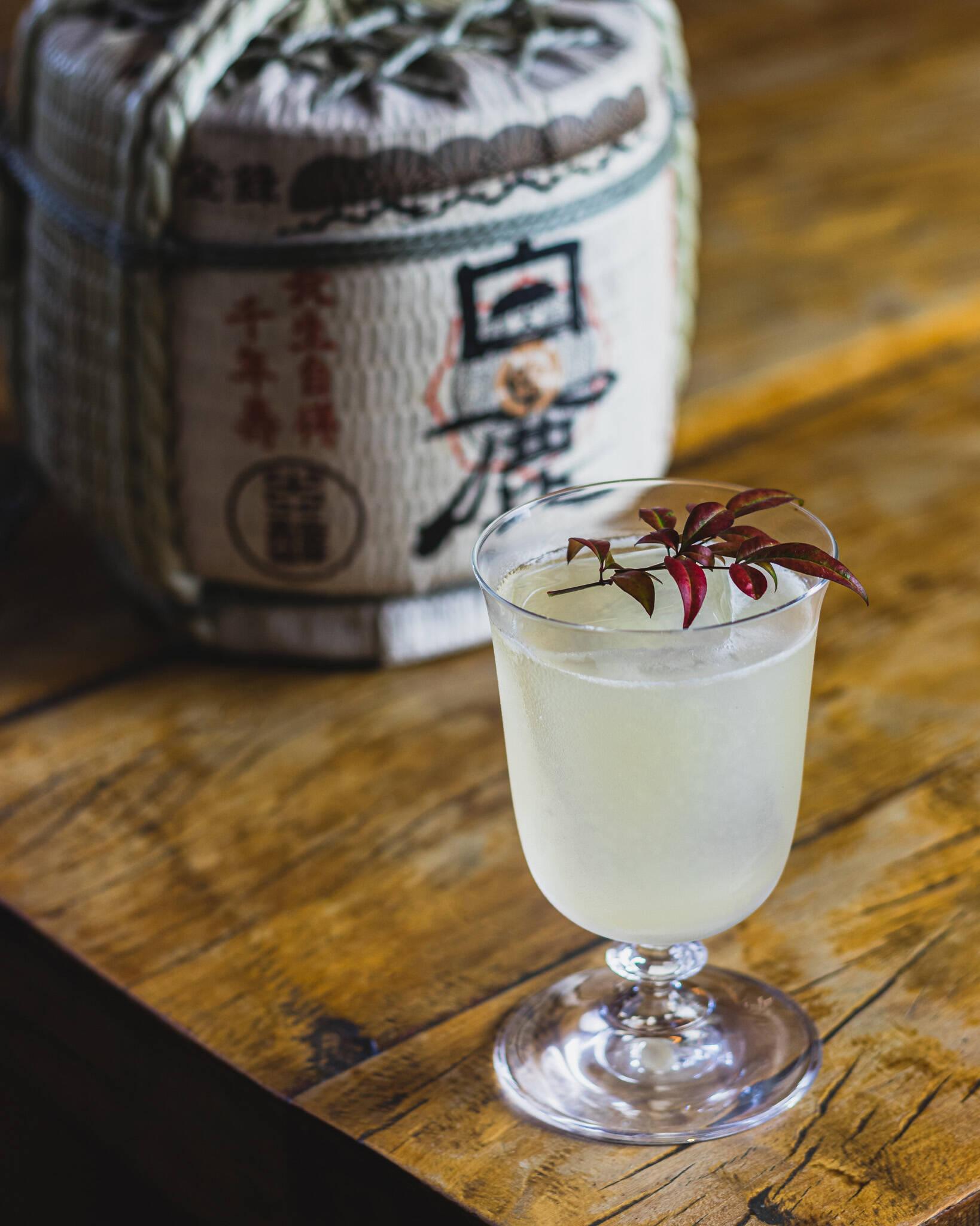 Lost in Japan, da nova carta de drinks do hotel, acompanha jantar do Pacote Primavera. Foto: Divulgação/Grand Hyatt Hotel SP