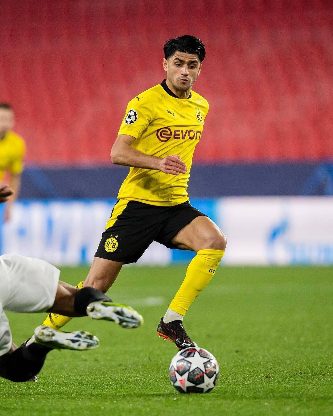 Sevilla x Borussia Dortmund. Foto: Reprodução / Instagram
