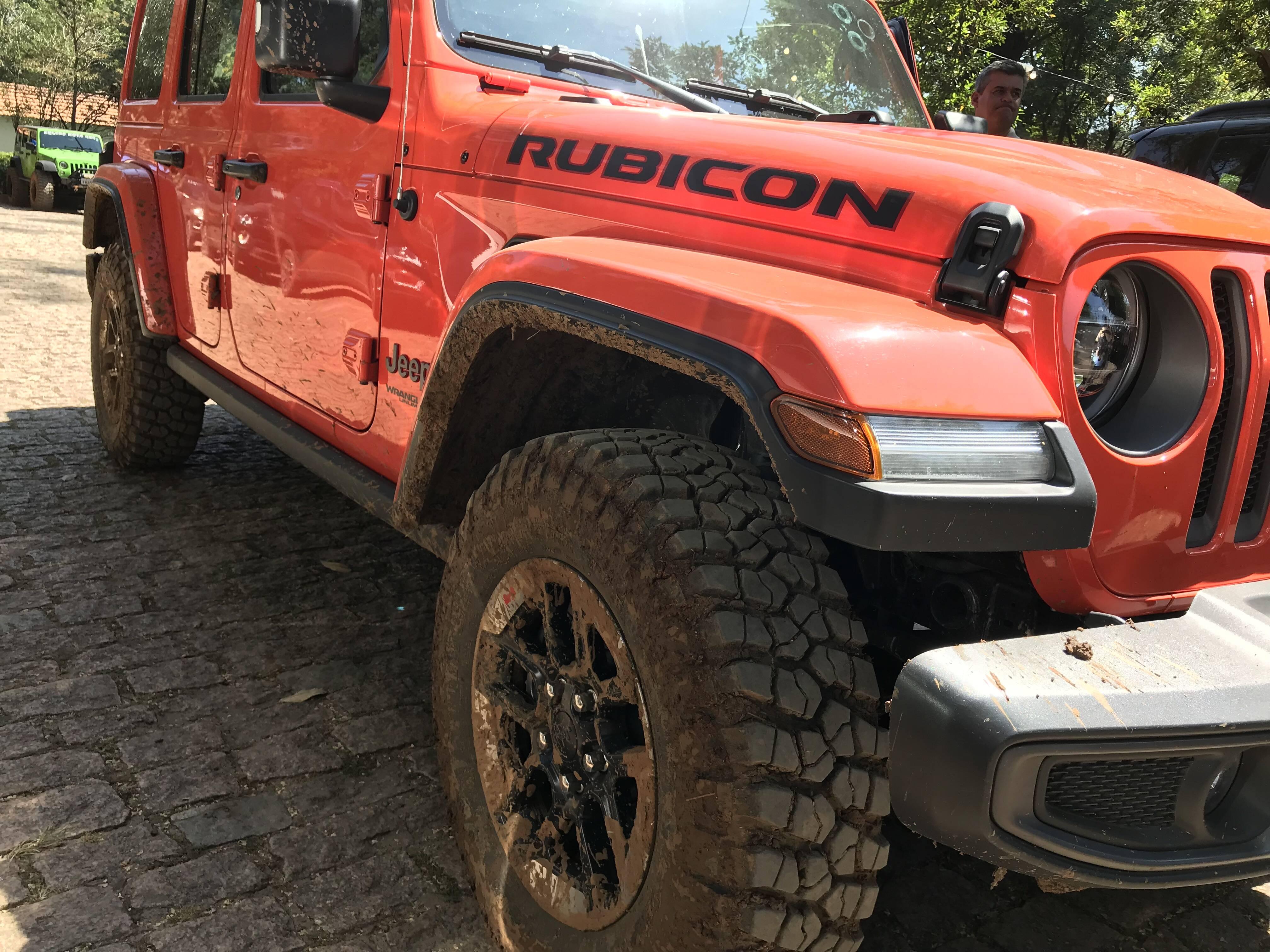Jeep Wrangler. Foto: Guilherme Menezes/iG