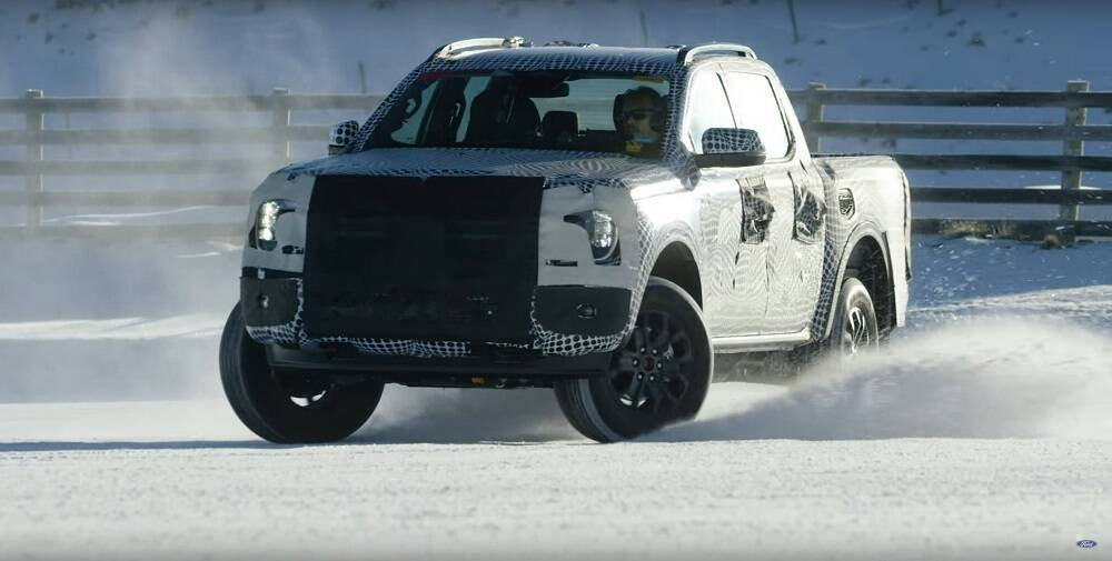 Ford Ranger 2023. Foto: Divulgação