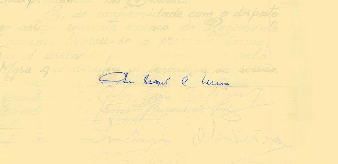 Itamar Franco tomou posse em 29 de dezembro de 1992, com a renúncia de Fernando Collor. Foto: Reprodução / Senado Federal