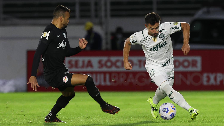 Bragantino x Palmeiras. Foto: Cesar Greco / Palmeiras