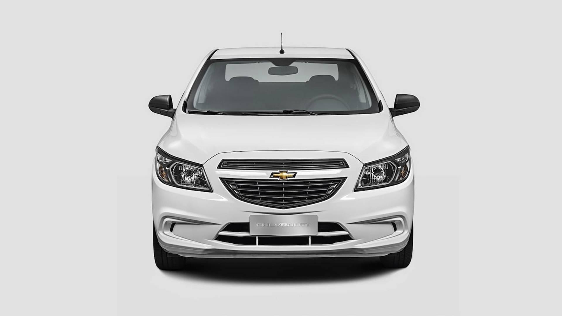 Chevrolet Prisma Joy 2019. Foto: Divulgação