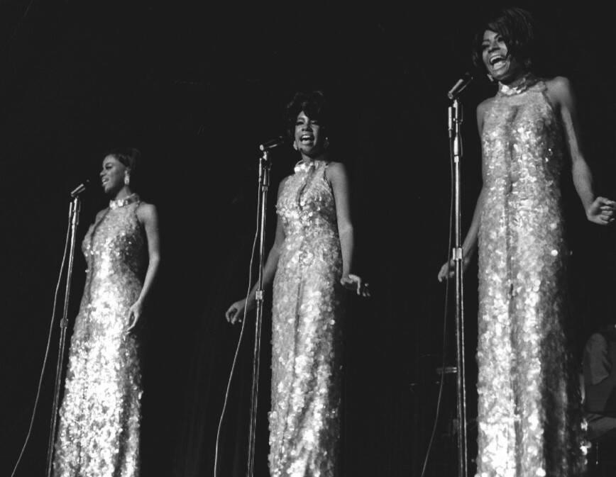 The Supremes era um grupo da era Motown e mesclava ao rock estilos como bossa nova e disco. Foto: Reprodução