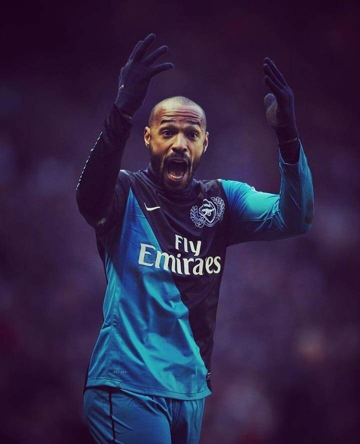 Thierry Henry. Foto: Instagram