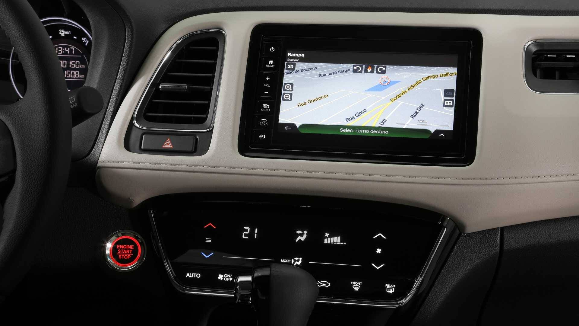 Honda HR-V Turbo. Foto: Divulgação