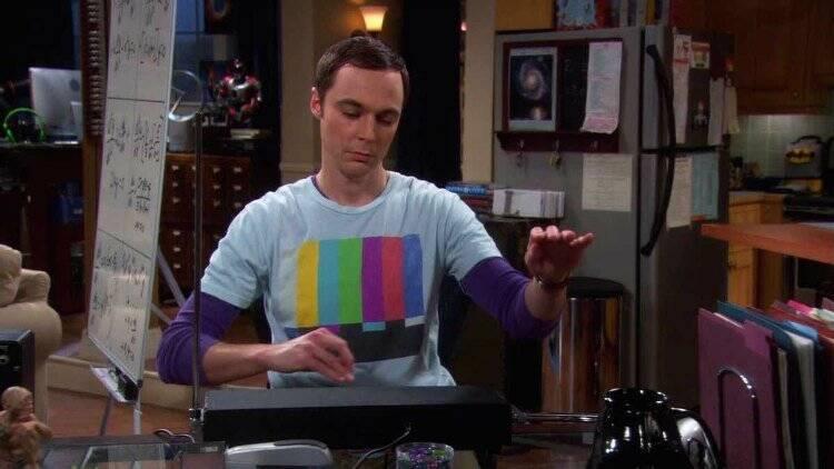 """Sheldon Cooper em """"The Big Bang Theory"""". Foto: Divulgação"""
