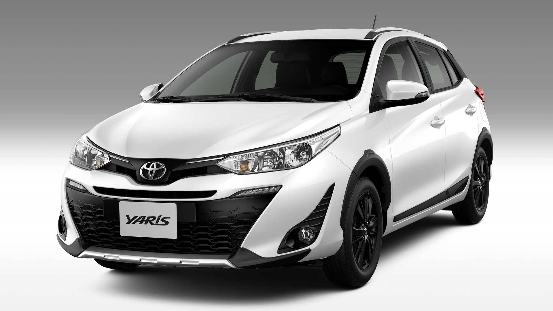 Toyota Yaris X-Way. Foto: Divulgação