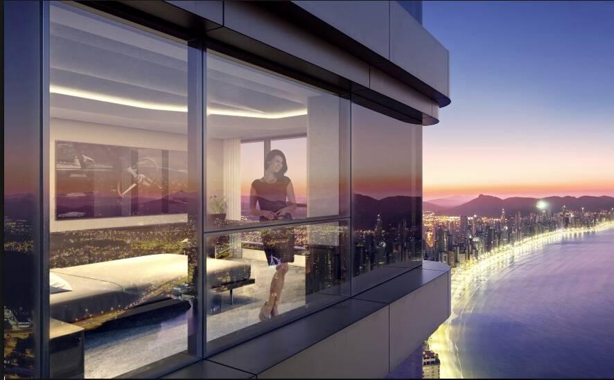 Yachthouse - prédio mais alto da América Latina. Foto: Divulgação