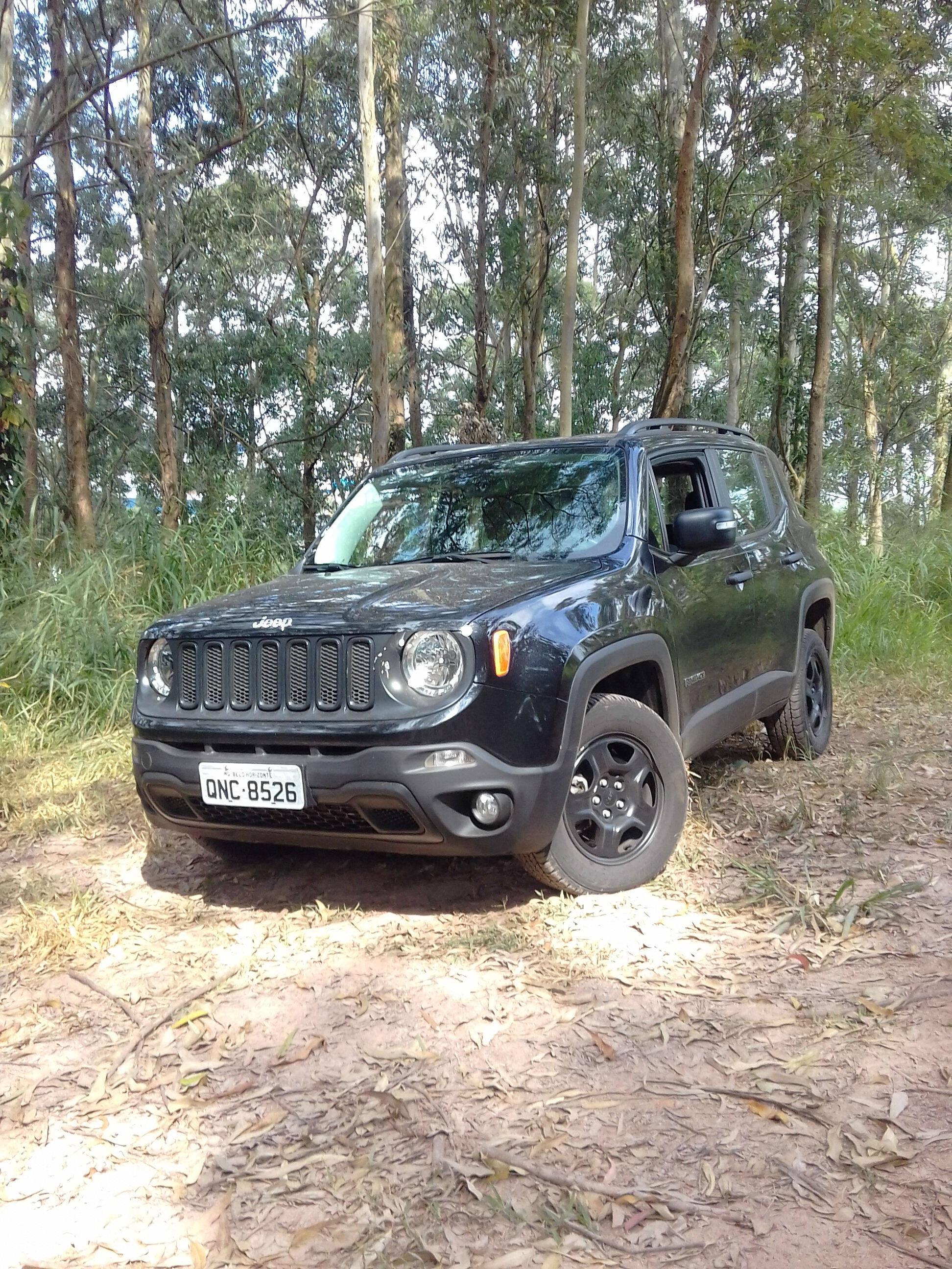 Jeep Renegade Custom Diesel. Foto: Divulgação