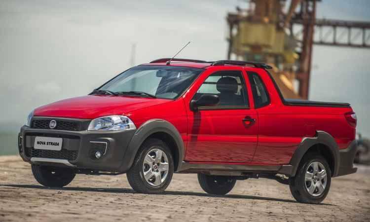 Fiat Strada Hardwork CE 1.4. Foto: Divulgação
