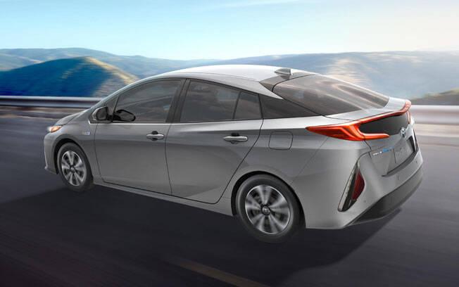 Toyota Prius Prime. Foto: Divulgação