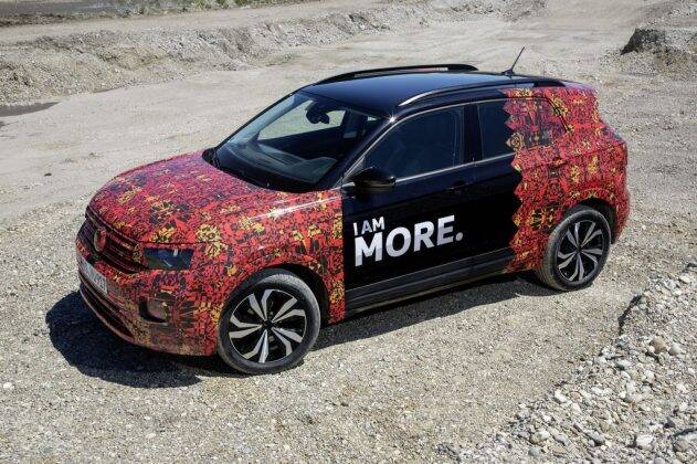 Volkswagen T-Cross. Foto: Divulgação