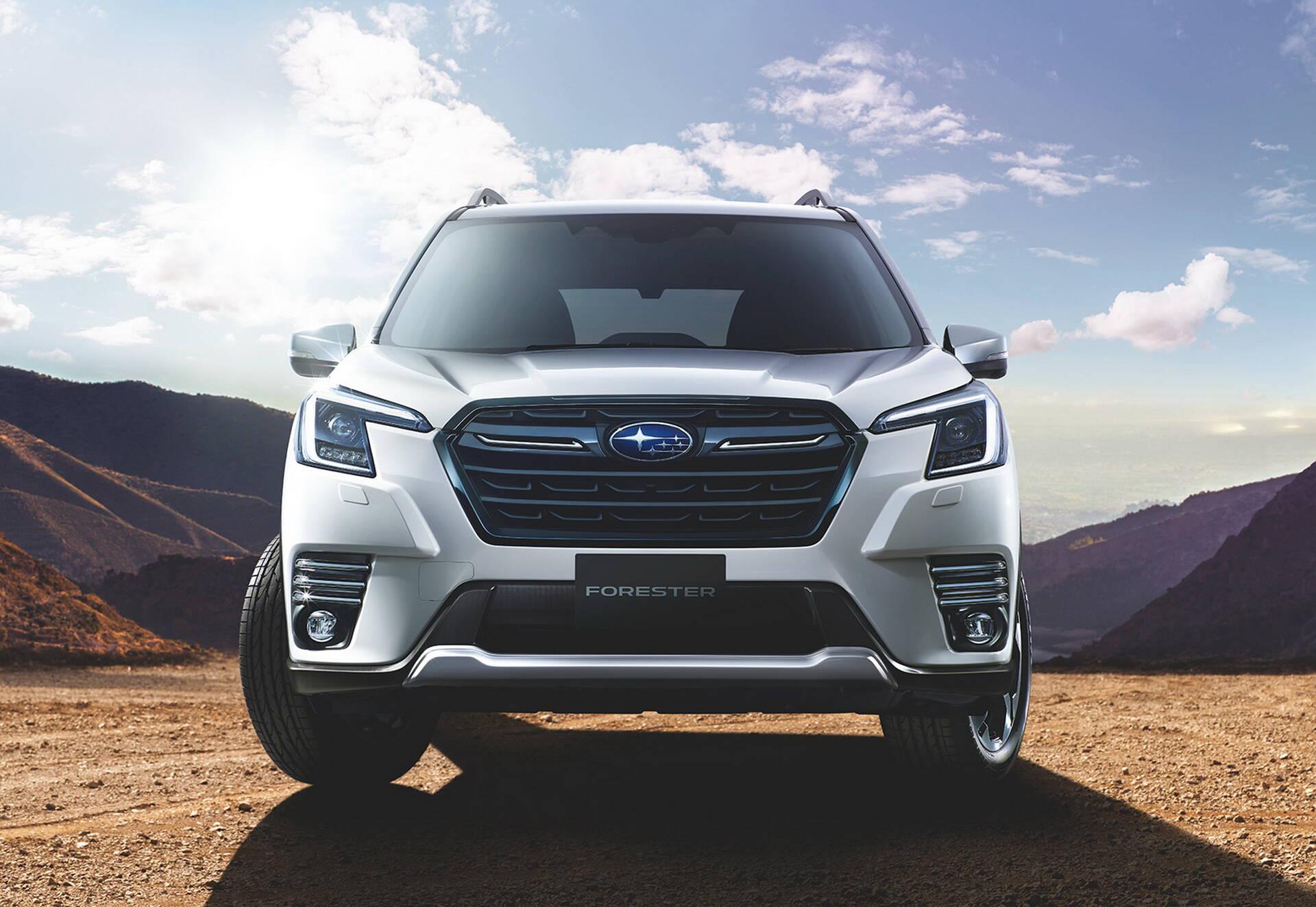Subaru Forester 2022 ficou mais robusto e recursos tecnológicos foram revistos.. Foto: Divulgação