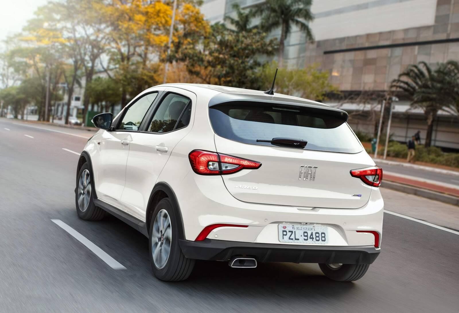 Fiat Argo 2019. Foto: Divulgação