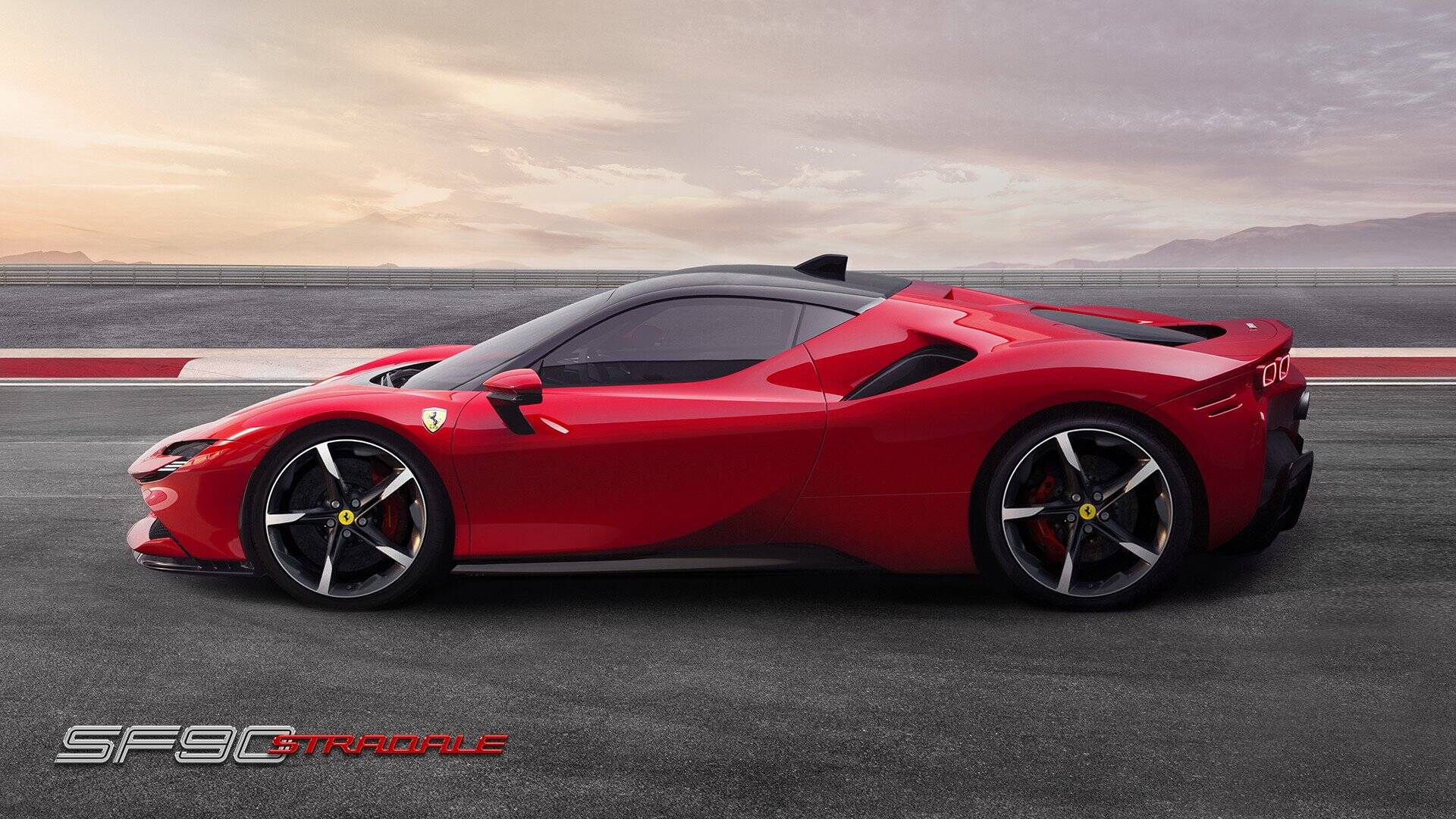 Ferrari SF90 Stradale. Foto: Divulgação