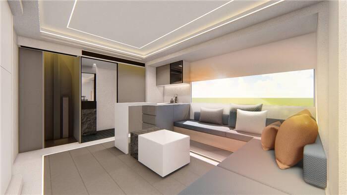 Maxus Life Home V90 Villa Edition. Foto: Divulgação