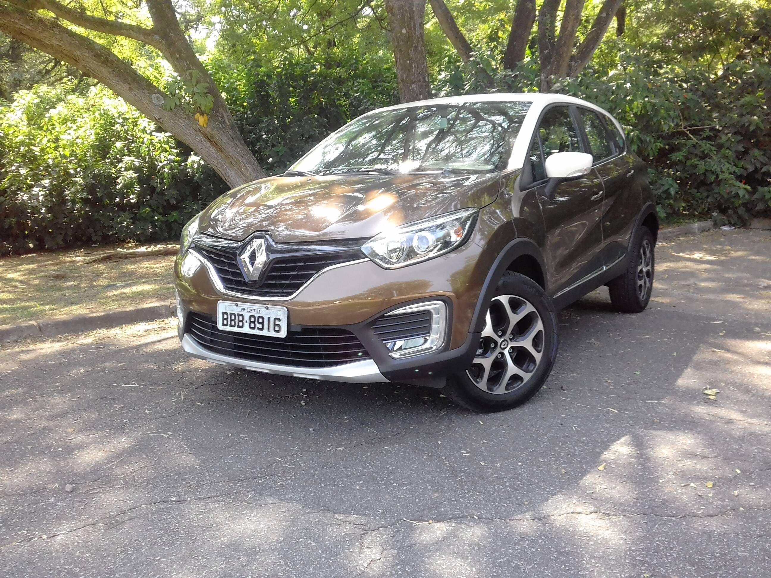 Renault Captur 2.0 Intense. Foto: Divulgação