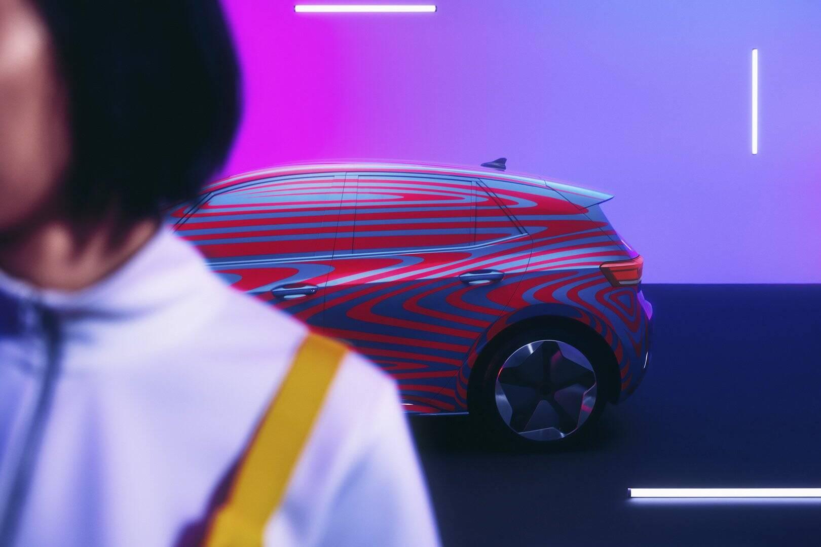 VW ID. 3. Foto: Divulgação