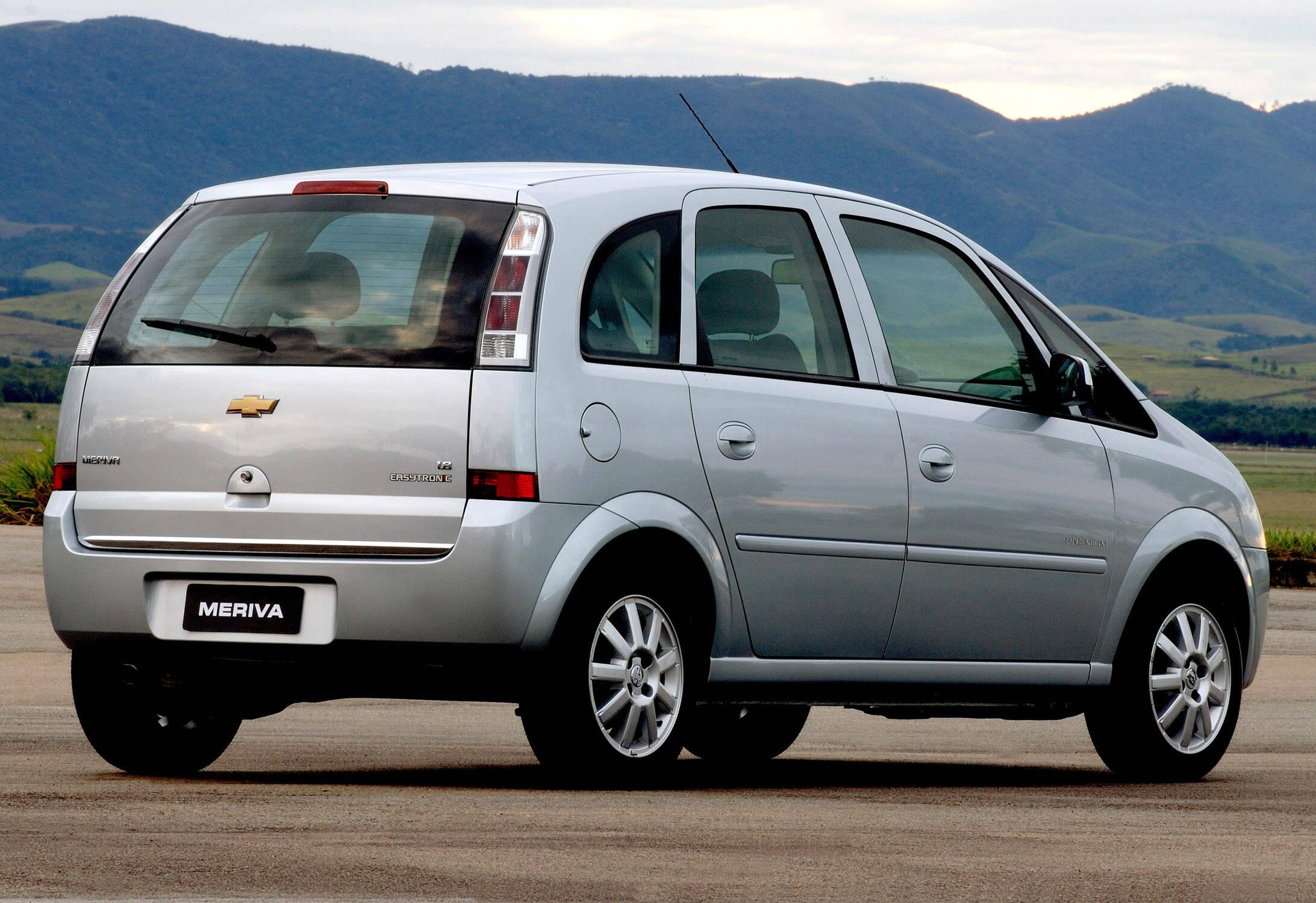 Chevrolet Meriva foi um dos últimos modelos da era Opel. Foto: Divulgação