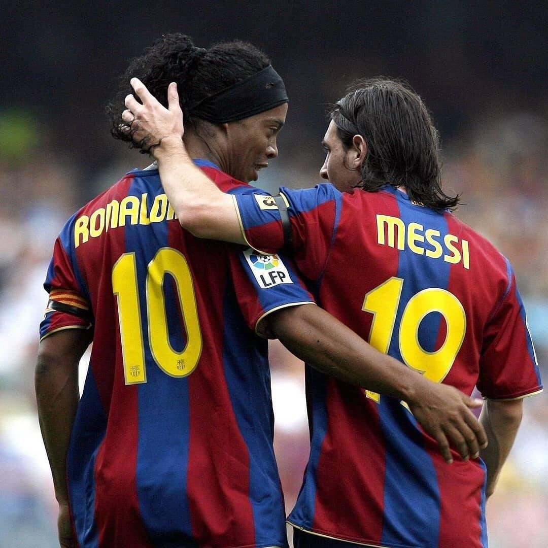 Ronaldinho. Foto: Instagram