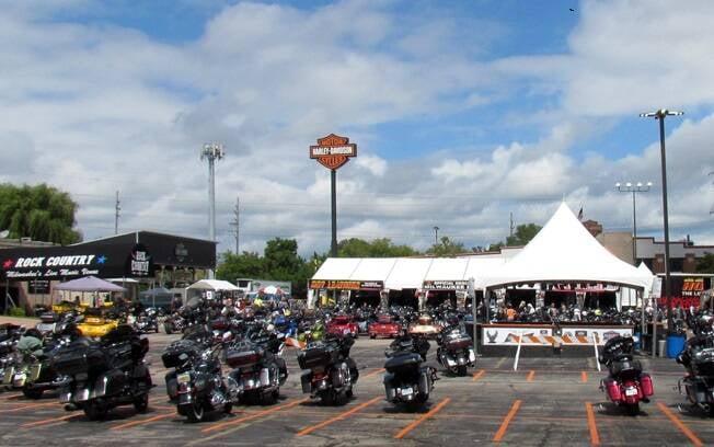 Harley-Davidson. Foto: Gabriel Marazzi