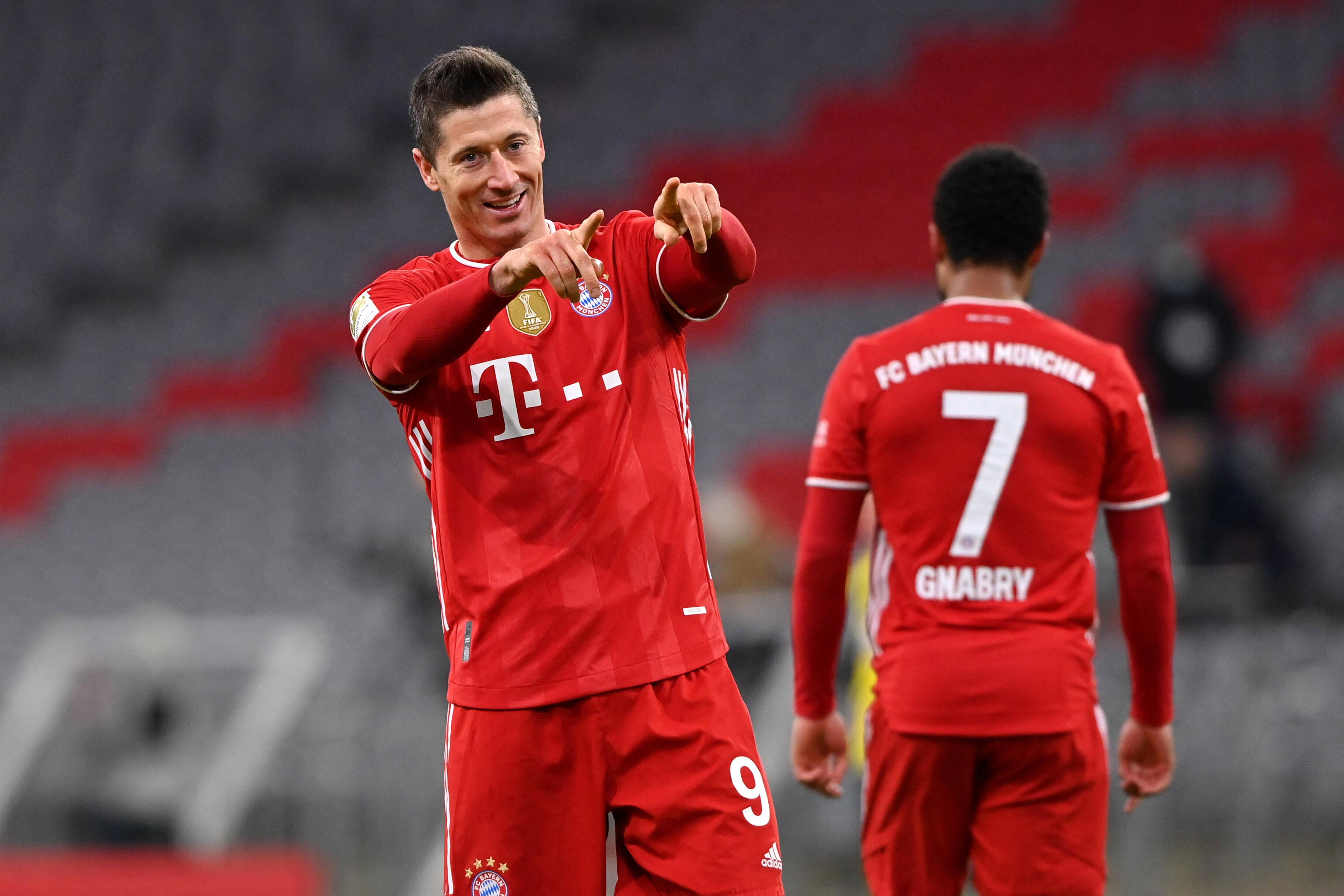 Lewandowski - Ganhos totais: US$ 35 milhões. Foto: Bayern de Munique/Reprodução