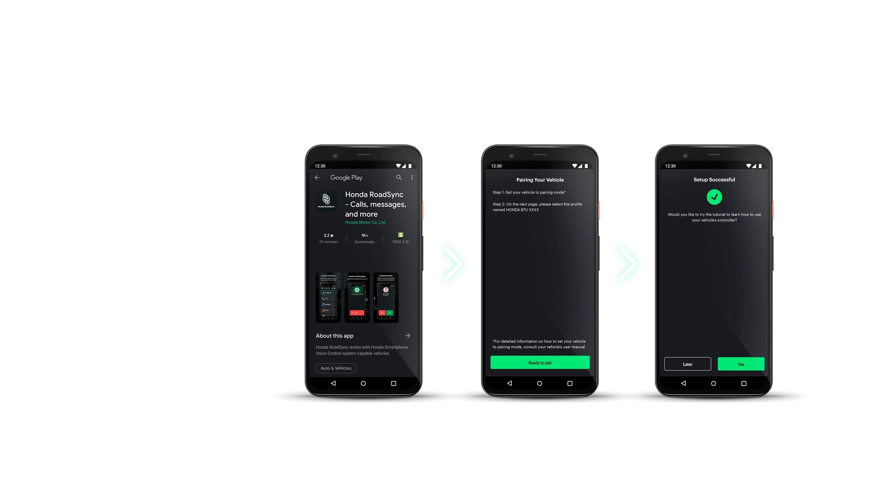 Honda Smartphone Voice Control. Foto: Divulgação