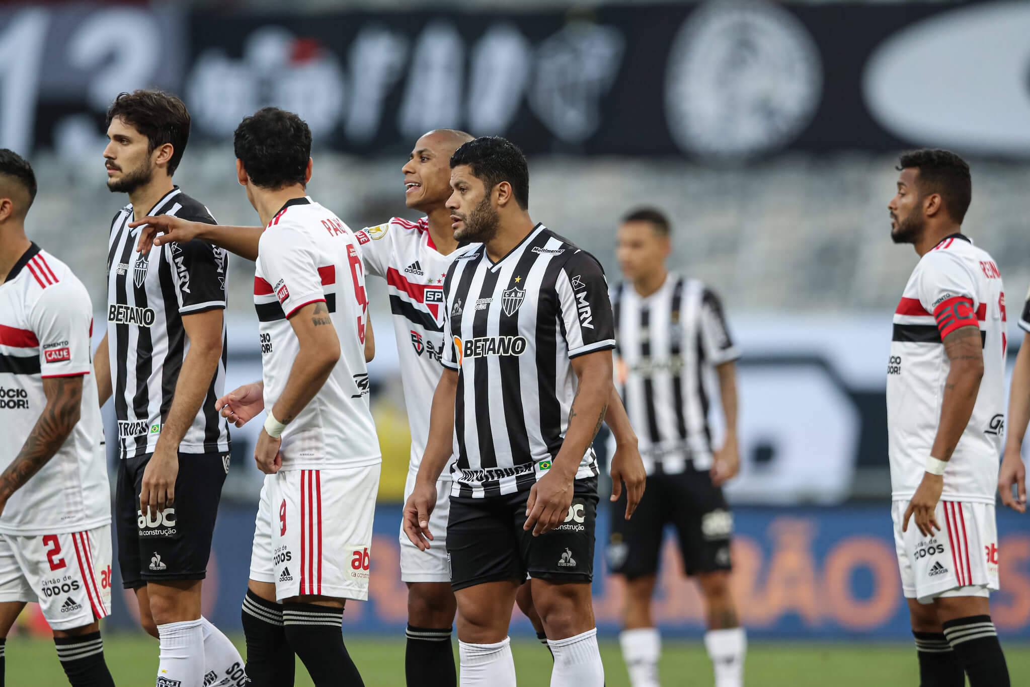 Atlético-MG x São Paulo. Foto: Pedro Souza / Atlético
