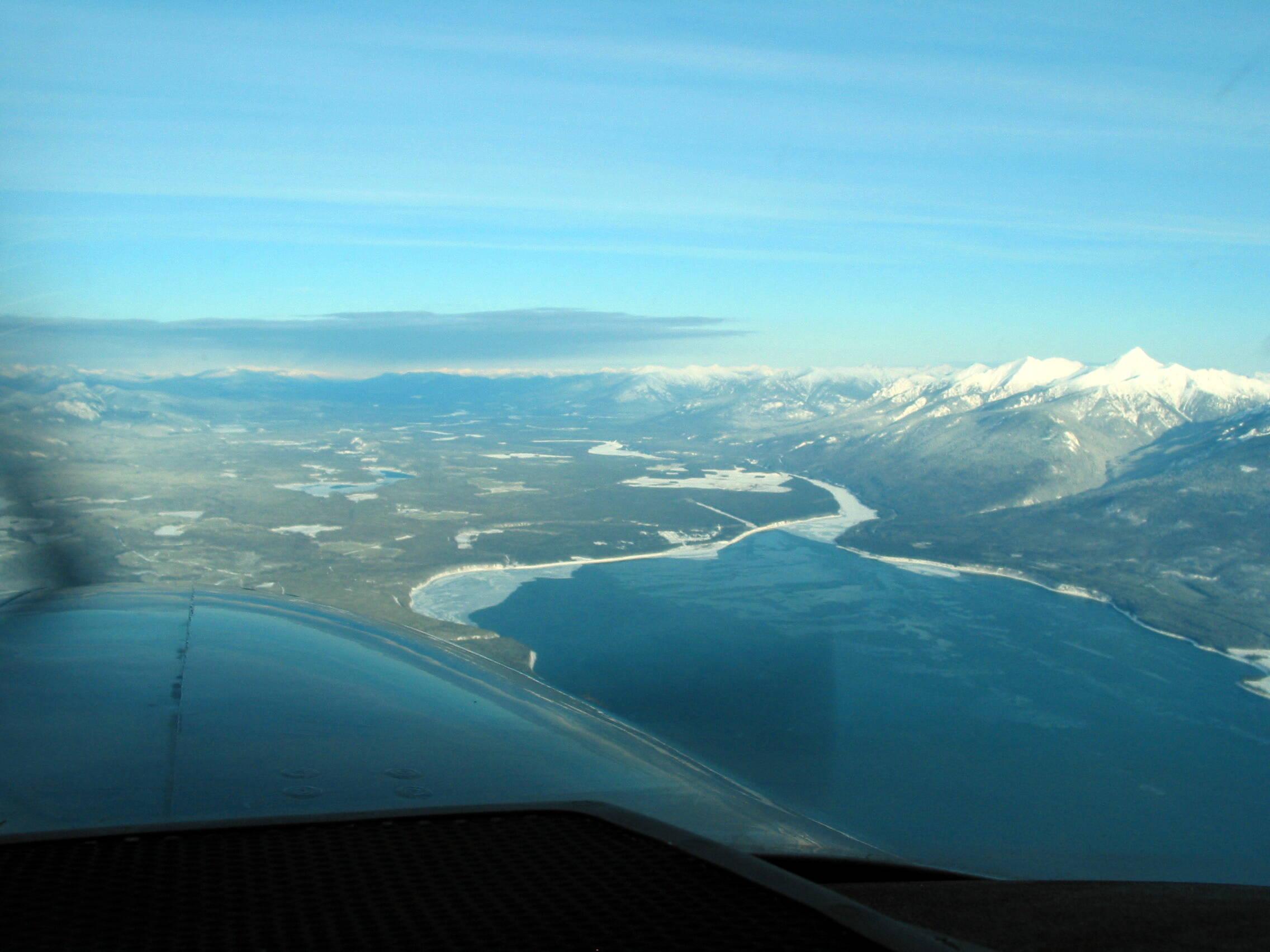 Lago Williston, Canadá. Foto: Creative Commons