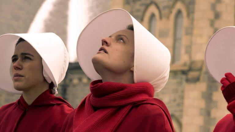 4 de 4 Handmaid's Tale — 3 (Paramount) June (Elizabeth Moss) luta contra a ditadura dos homens 13 episódios — estreia: 16/6. Foto: Divulgação