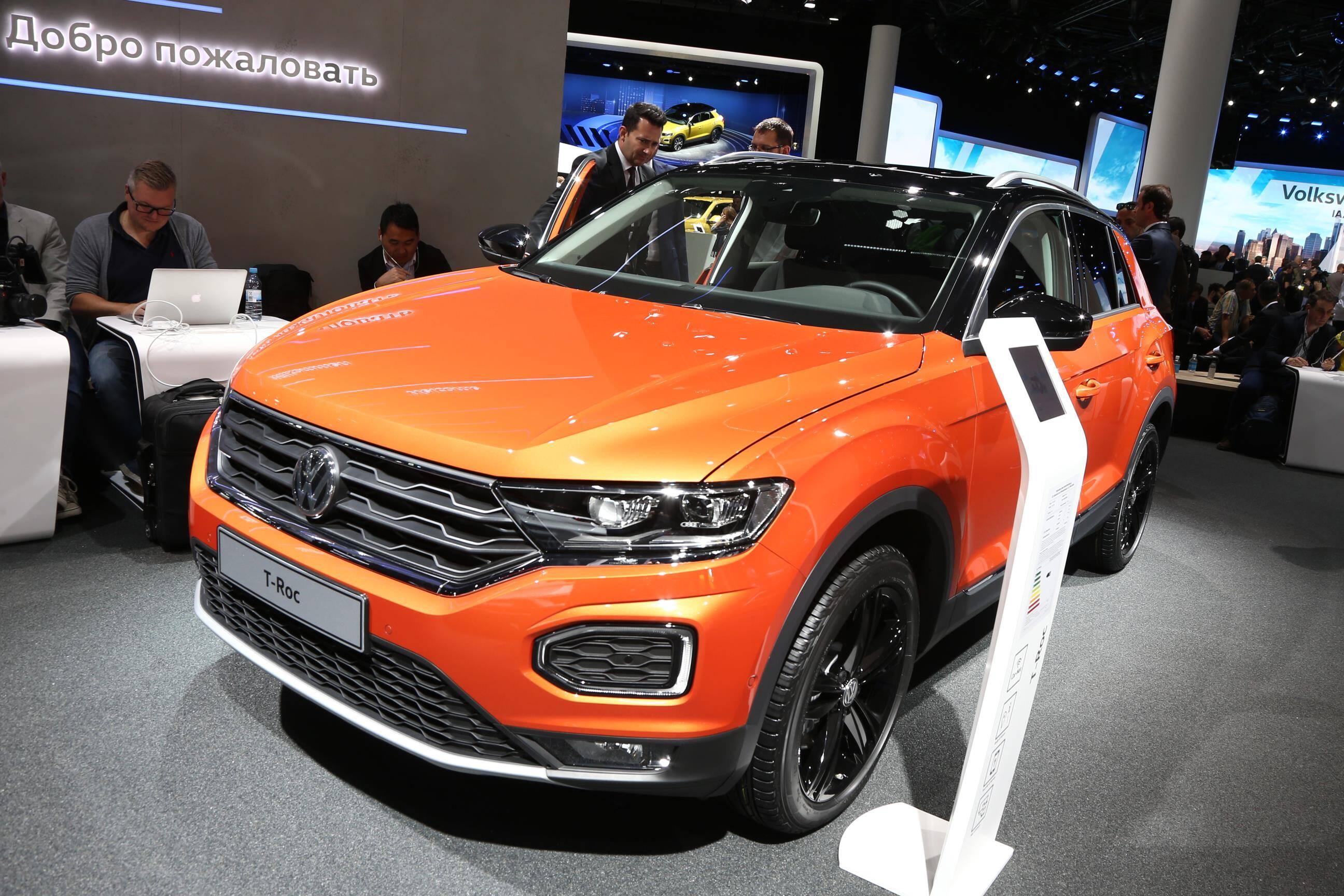 Volkswagen T-Roc. Foto: Newspress