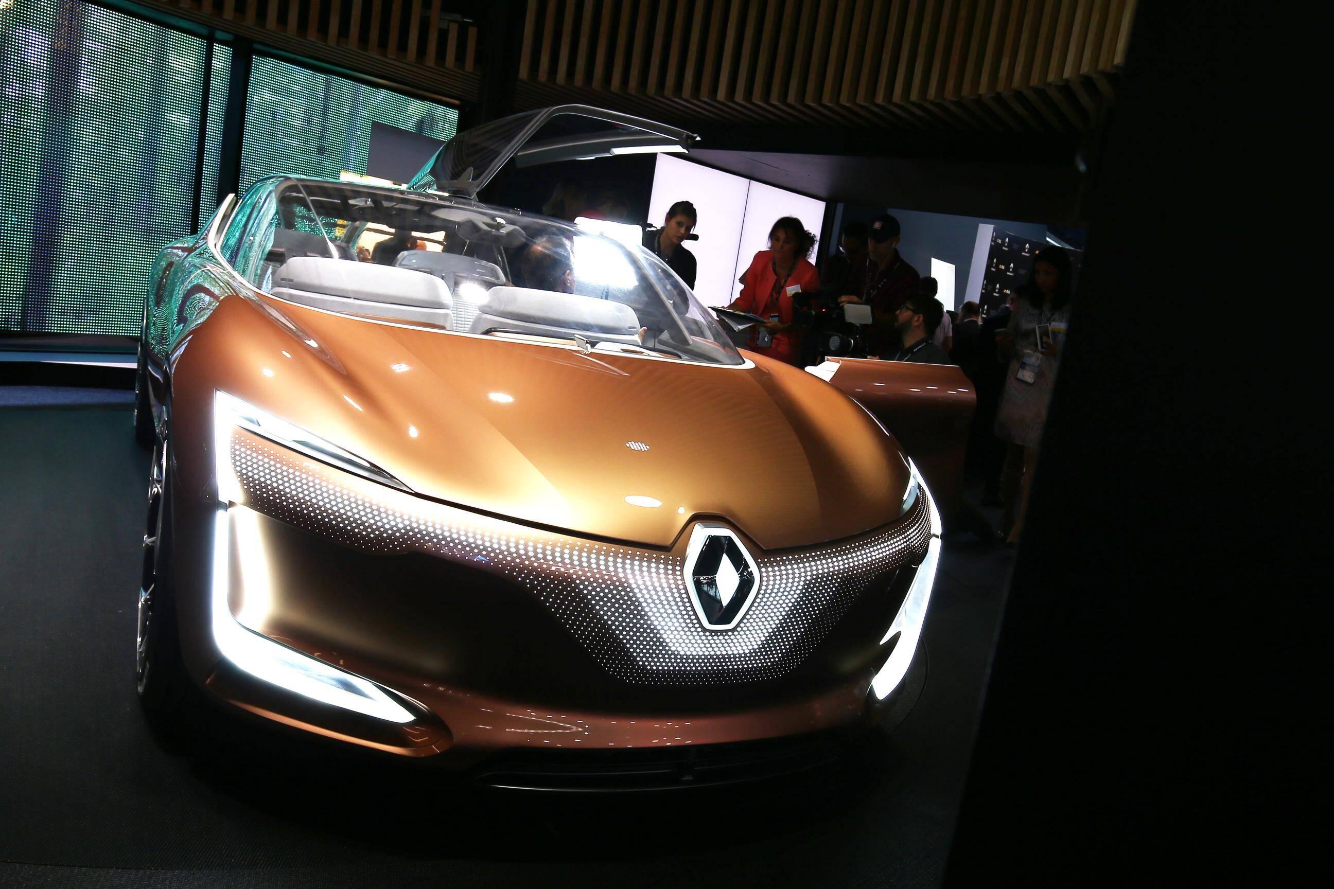 Renault SYMBIOZ. Foto: Newspress