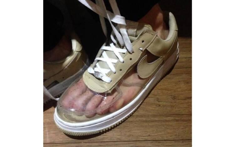 Sapatos inusitados . Foto: Reprodução/Instagram