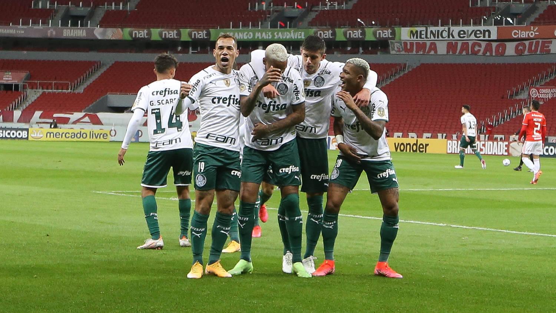 Internacional x Palmeiras. Foto: Cesar Greco / Palmeiras