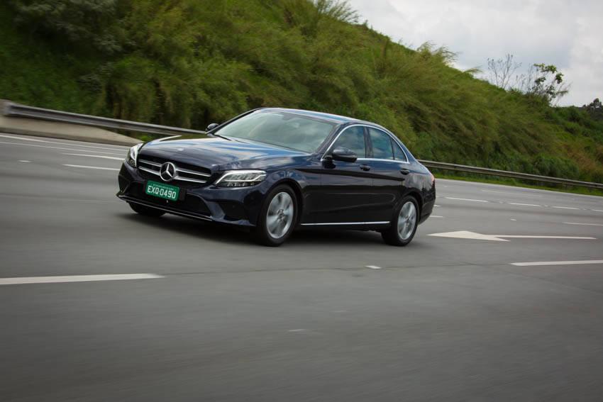 Mercedes-Benz Classe C EQ Boost. Foto: Divulgação