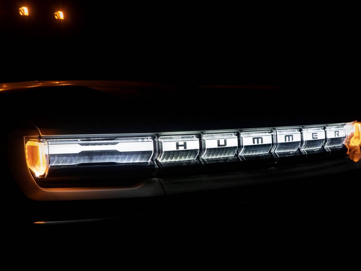 GMC Hummer EV. Foto: Divulgação