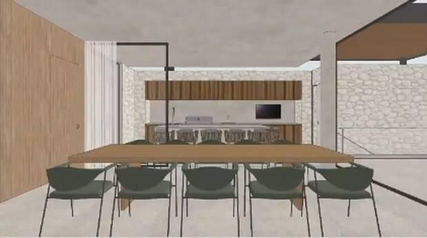 Futura mansão de Bárbara Evans. Foto: Instagram