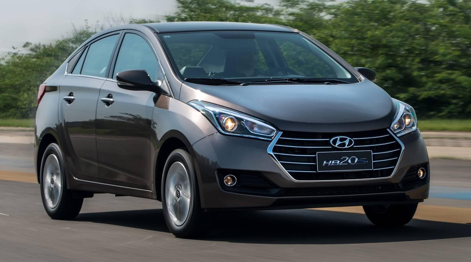 Hyundai HB20S. Foto: Divulgação