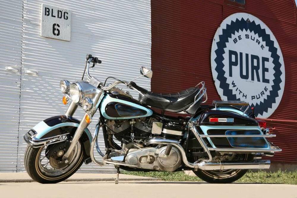 Harley-Davidson de Elvis Presley. Foto: divulgação/GWS Autions