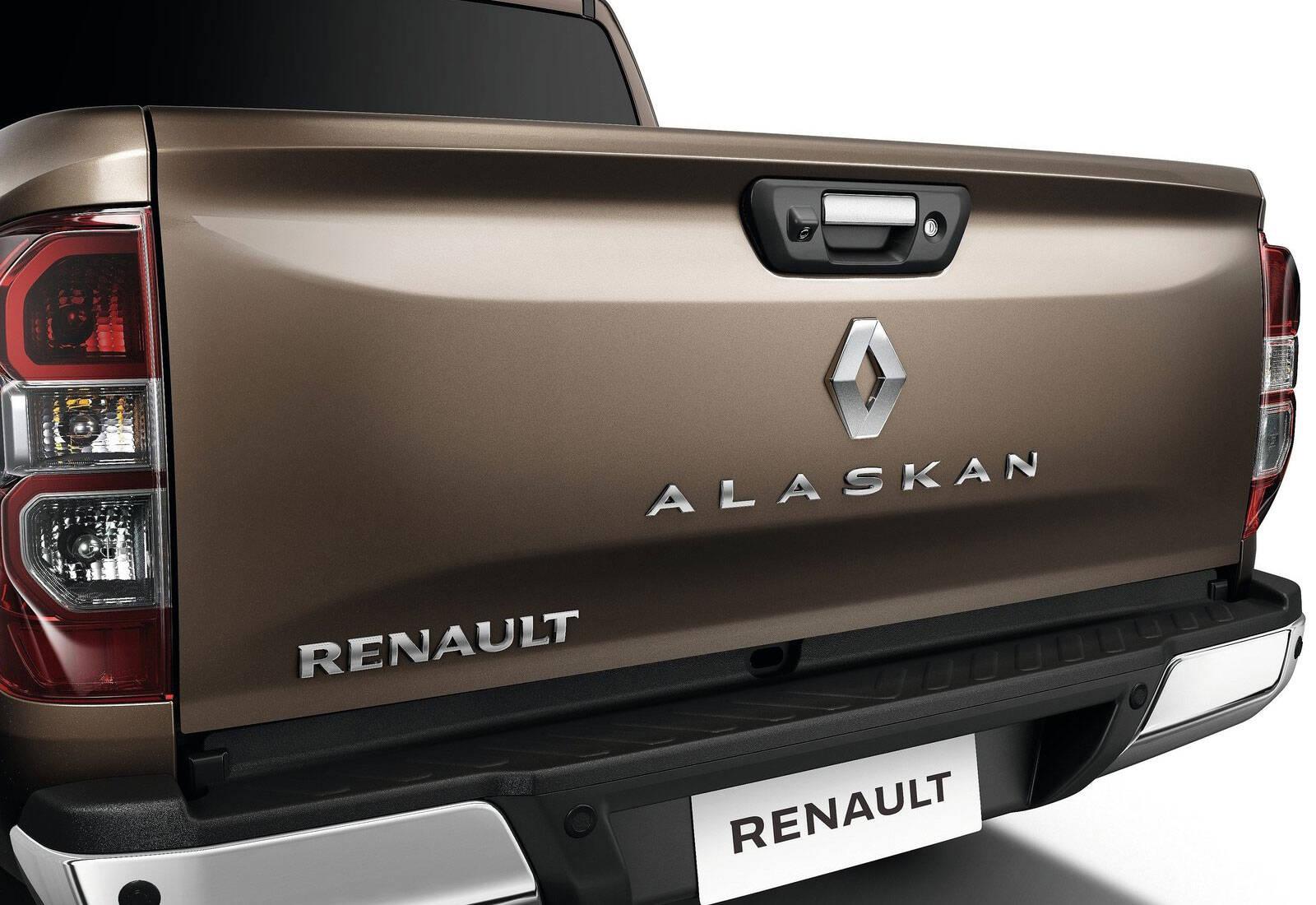 Renault Alaskan. Foto: divulgação/Renault