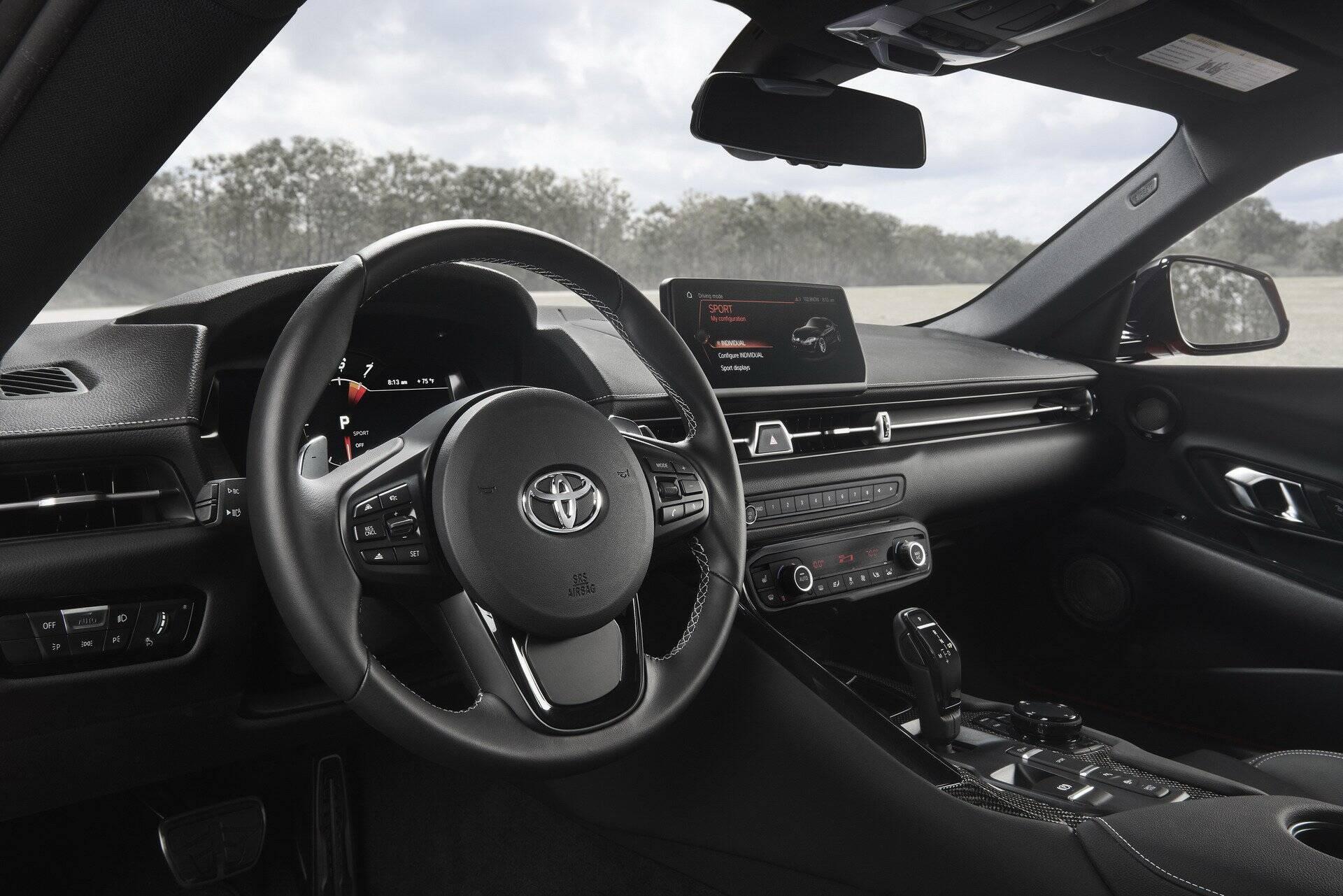 Toyota Supra. Foto: Divulgação