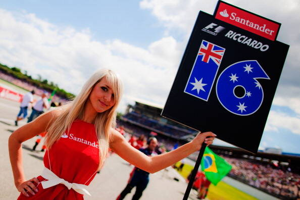 Gris girls F1. Foto: Getty Images