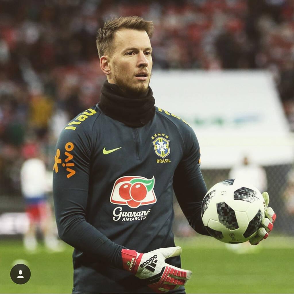 Goleiro brasileiro. Foto: Instagram