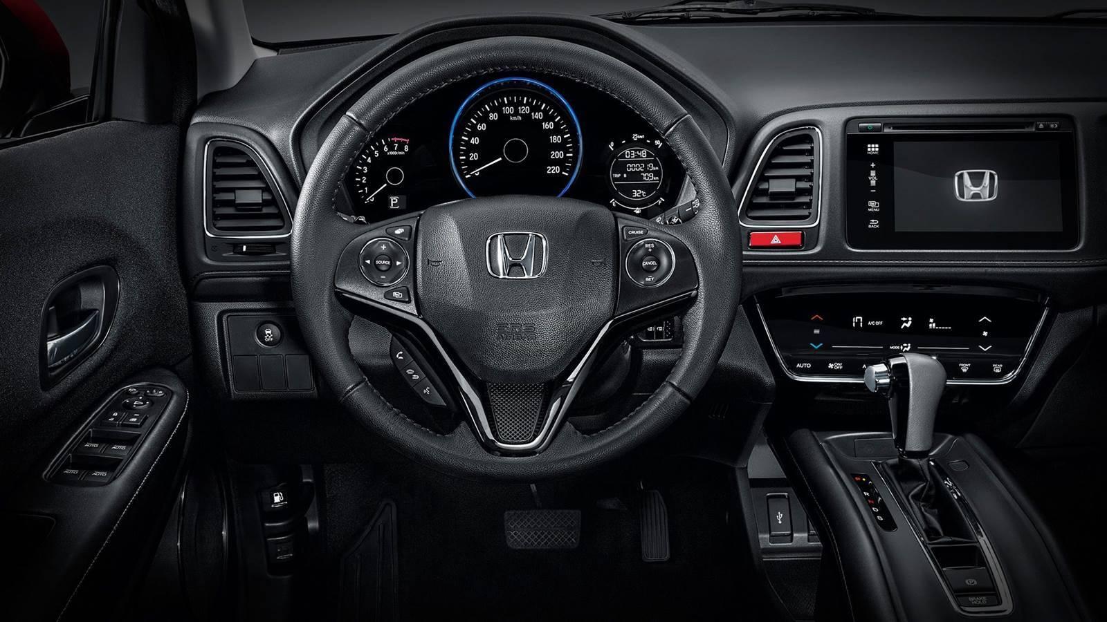 Honda HR-V EX. Foto: Divulgação