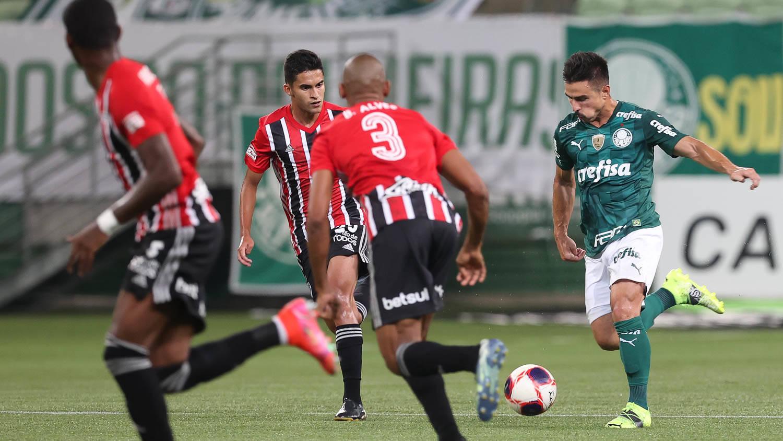 Palmeiras x São Paulo. Foto: Cesar Greco / Palmeiras