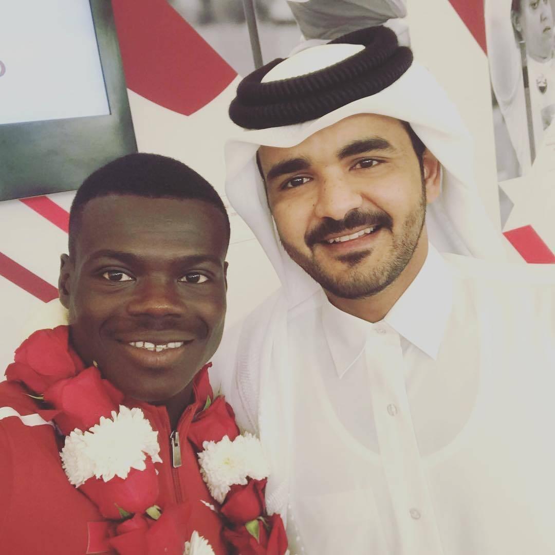 Abdalelah Haroun. Foto: Instagram